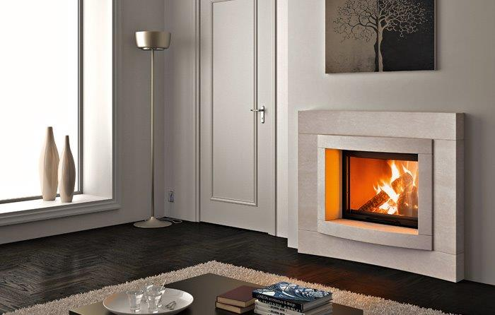Fireplace heating system photo gallery dimar fireplaces for Fireplace heater system